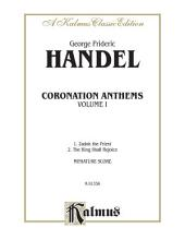 Coronation Anthems, Volume I: Miniature Score