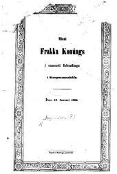 Minni Frakka Konúngs Louis Philippe í samsæti Islendinga í Kaupmannahöfn þann 16 Janúari, 1839. In verse