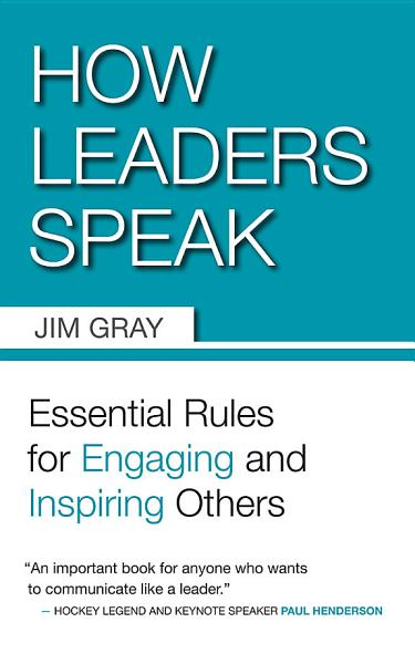 Download How Leaders Speak Book