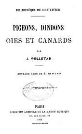 Pigions, dindons, oies et canards