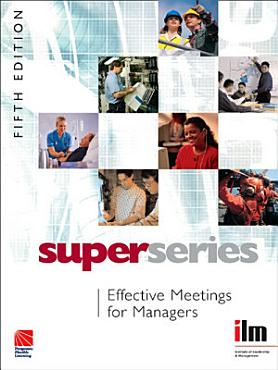 Effective Meetings for Managers PDF