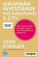 Souver  n investieren mit Indexfonds und ETFs PDF