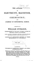 The Annals of Electricity  Magnetism  and Chemistry  and Guardian of Experimental Science PDF