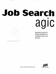 Job Search Magic Book PDF
