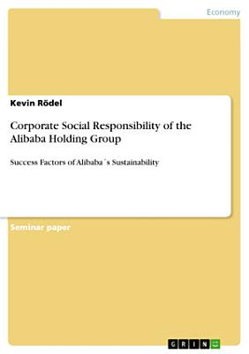 Corporate Social Responsibility of the Alibaba Holding Group
