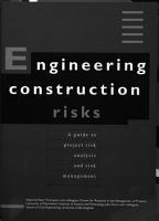 Engineering Construction Risks PDF