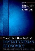The Oxford Handbook of Post Keynesian Economics  Volume 2 PDF