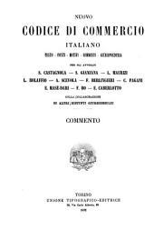 Nuovo codice di commercio italiano: testo, fonti, motivi, commenti, giurisprudenza, Volume 3