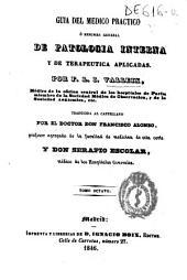Guía del médico práctico o Resumen general de patología interna y de terapéutica aplicadas: Volumen 8