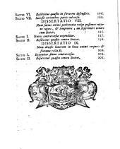 Dissertationes philosophicae