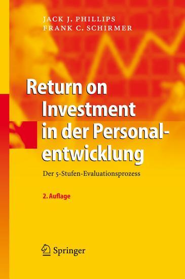 Return on Investment in der Personalentwicklung PDF