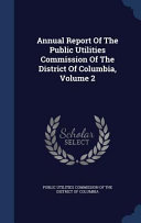 Annual Report of the Public Utilities Commission of the District of Columbia PDF