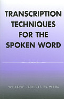 Transcription Techniques for the Spoken Word PDF