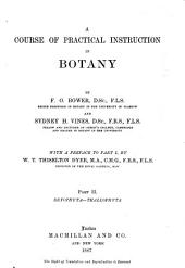 A Course of Practical Instruction in Botany: Volume 2