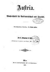 Archiv für Gesetzgebung und Statistik: Band 10,Ausgabe 2