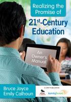 Realizing the Promise of 21st Century Education PDF