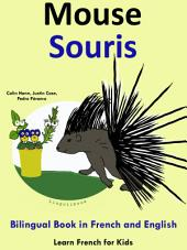Learn French: French for Kids. Mouse - Souris: Bilingual Book in English and French: Learn French Series