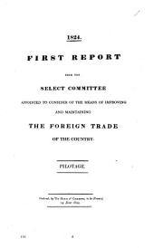 Selection of Reports and Papers of the House of Commons: Foreign trade ; [3], Volume 21