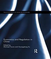Economics and Regulation in China PDF