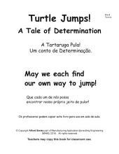 A Tartaruga Pula Portuguese Brasil Version Turtle Jumps: Um conto de Determinação. A Tale of Determination