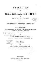 Remedies and Remedial Rights by the Civil Action According to the Reformed American Procedure: A Treatise Adapted to Use in All the States and Territories where that System Prevails