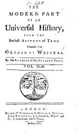 An Universal history, from the earliest account of time: Volume 63
