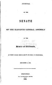 Journal of the Senate of the General Assembly: Volume 11