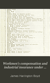 Workmen's compensation and industrial insurance under modern conditions: Volume 1