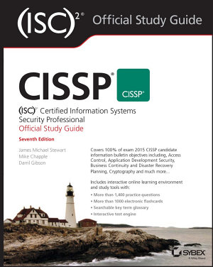 CISSP  ISC 2 Certified Information Systems Security Professional Official Study Guide PDF