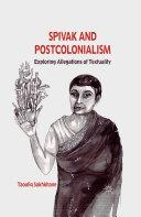 Spivak and Postcolonialism