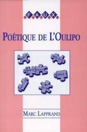 Poétique de l'Oulipo