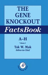 The Gene Knockout Factsbook, Two-Volume Set