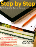 Step by Step to College and Career Success 5e   Insider s Guide to Community College PDF