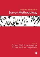 The SAGE Handbook of Survey Methodology PDF