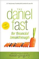 The Daniel Fast for Financial Breakthrough PDF