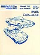 Triumph TR7 Parts Catalogue 1979 Onwards