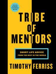Tribe Of Mentors Book PDF