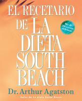 El Recetario de La Dieta South Beach PDF