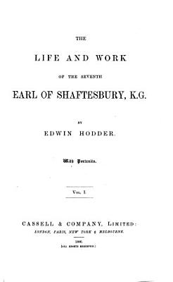 Life and Work of the Seventh Earl of Shaftesbury PDF
