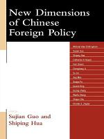 New Dimensions of Chinese Foreign Policy PDF