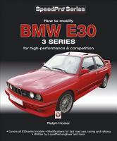 How to Modify BMW E30 3 Series PDF