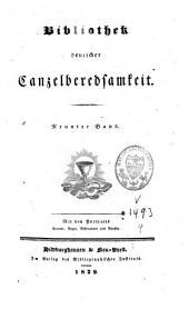 Bibliothek deutscher Cantzel-Beredsamkeit: eine Auswahl d. vorzüglichen Predigten älterer und neuerer Zeit, Band 9