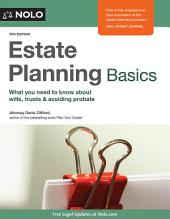 Estate Planning Basics: Edition 9