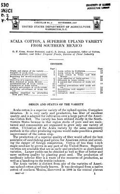 Acala Cotton