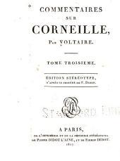Commentaires sur Corneille: Volume3