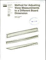Method for Adjusting Warp Measurements to a Different Board Dimension