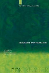 "Impersonal ""si"" constructions: Agreement and Interpretation"