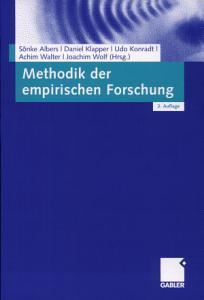 Methodik der empirischen Forschung PDF