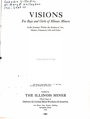 Visions for Boys and Girls of Illinois Miners