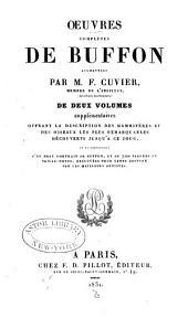Œuvres complètes de Buffon: Volume24